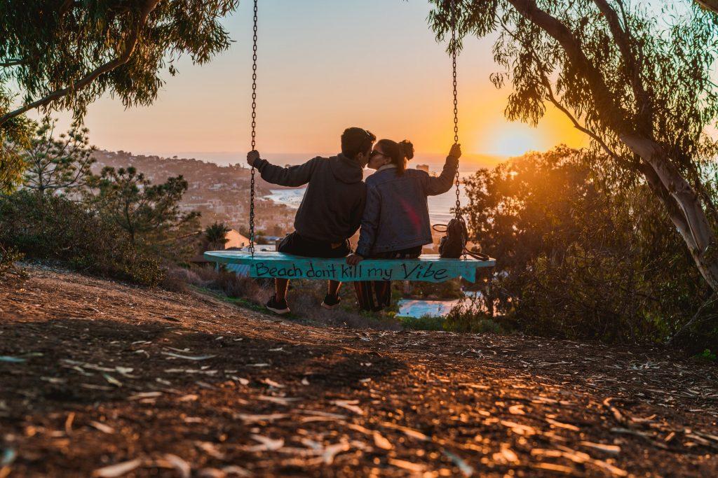 Get Breathtaking Views Of La Jolla Shores On These Secret Swings
