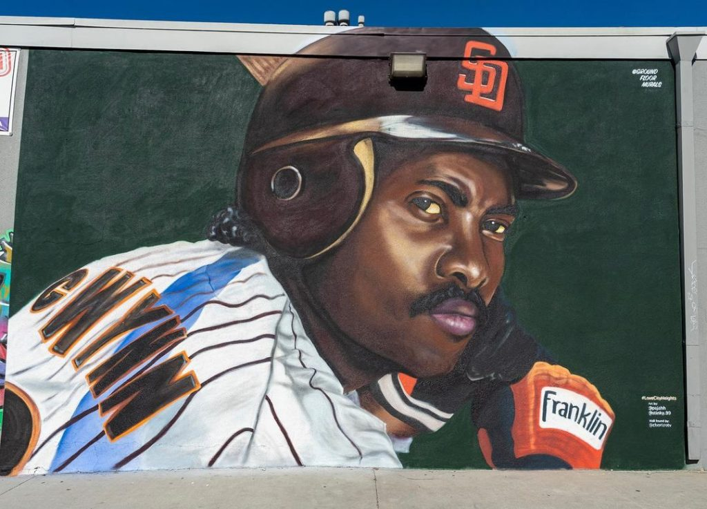 Local Artists Honor Padres Legend Tony Gwynn With A New Mural In City Heights