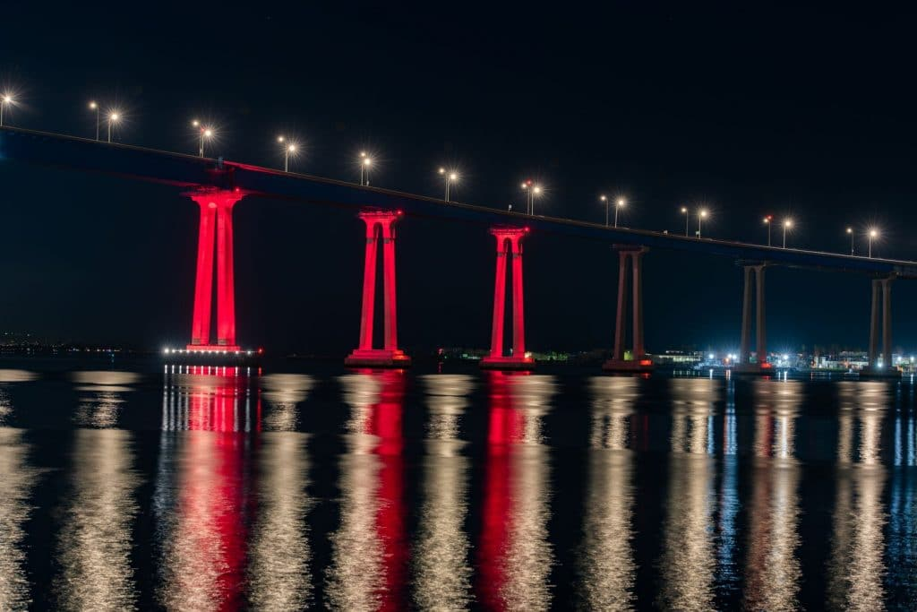 The Coronado Bridge Lighting Project Testing Ends This Saturday, And They Want Your Input