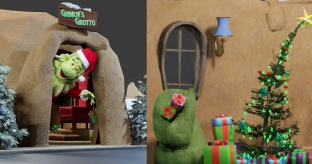 The Grinch Is Bringing Whoville To San Diego With A Holiday-Themed Dr. Seuss Exhibition • The Grinch's Grotto