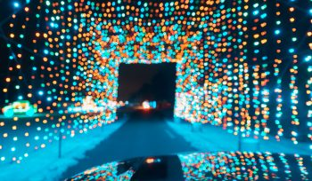 A Dazzling Holiday Drive-Thru With Over 1 Million LED Lights Is Rolling Into Del Mar Next Week