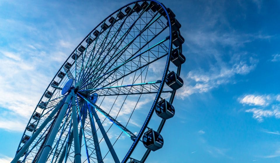 This Awesome Dine-In Ferris Wheel May Be Rolling Into Balboa Park This Winter